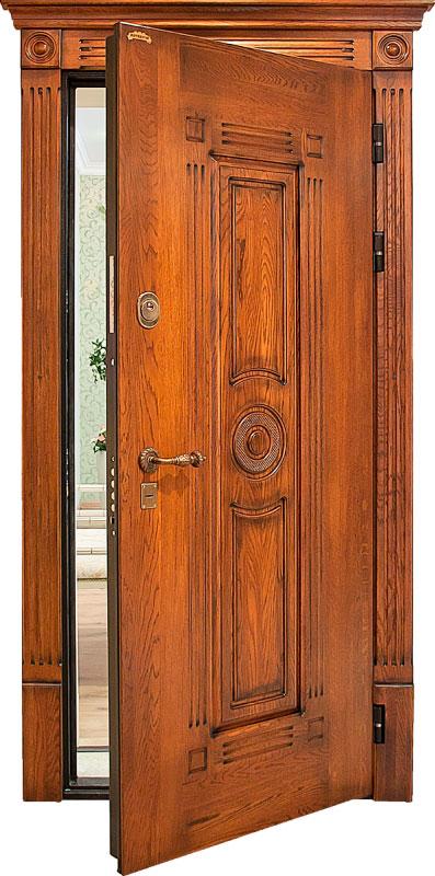 Софья: дверь из массива дуба (стандартный комплект)