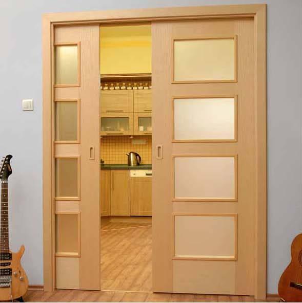 Встроенная межкомнатная дверь своими руками
