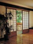 Раздвижная дверь в японском стиле