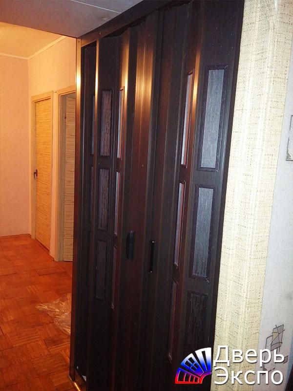 складные межкомнатные двери гармошка от производителя купить