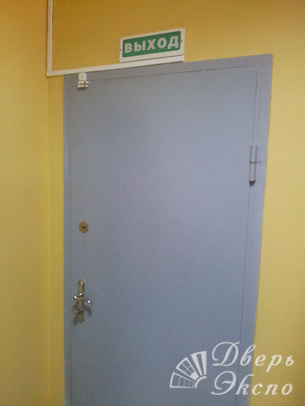 двери металлические входные для служебных помещений